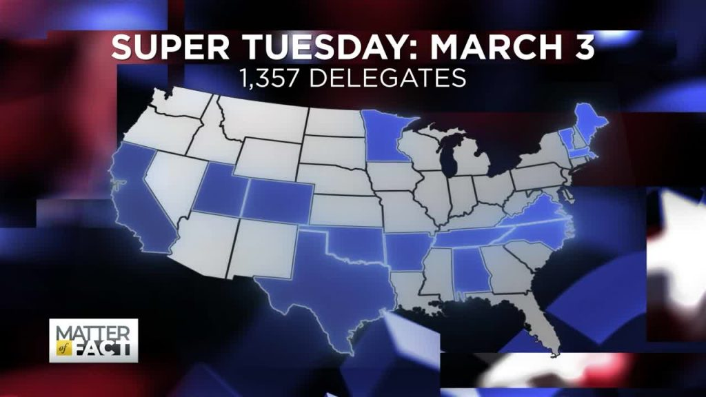 Super Tuesday: 1,357 Delegates Up For Grabs and Why it Matters